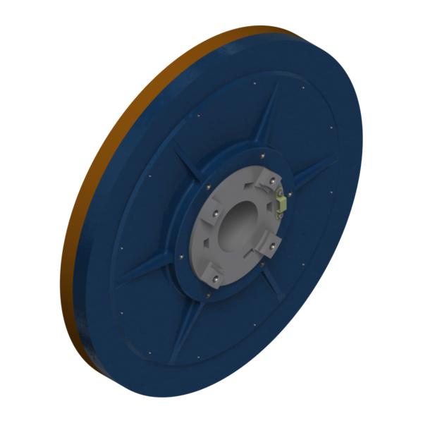 Мотор-колесо EM-I-ER (вид со стороны неподвижного вала)