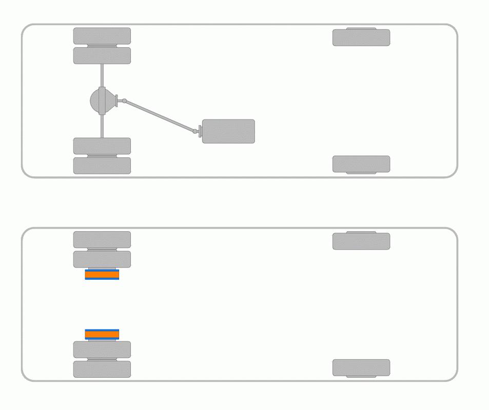 Сравнение классической редукторной и прямо-приводной трансмиссий электротранспорта