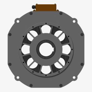 Базовый модуль iEM-II с воздушным охлаждением (вид спереди)