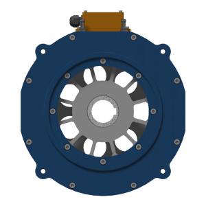 Базовый модуль iEM-Iw с принудительным жидкостным охлаждением (вид спереди)